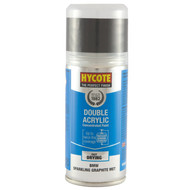 Hycote Honda Polished Grey Metal Acrylic Spray Paint - 150 ml