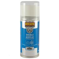 Hycote Volvo Ice White Acrylic Spray Paint - 150 ml