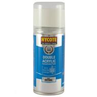 Hycote VW Pure White Acrylic Spray Paint - 150 ml