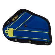 Child's Seat Safety Belt Adjuster - Blue & Black