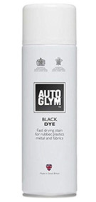 Black Dye For Fabric Carpet Rubber & Plastics - 450 ml