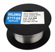 0.8 mm Flux cored Mig Welding wire (Gas Less) - 450 gram
