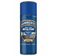 Hammerite Smooth Blue Spray Paint - 400 ml