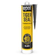 Tiger Seal Black Polyurethane PU Adhesive Sealant - Black