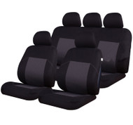 A Full Set Universal of Seat Covers - Air Bag Safe