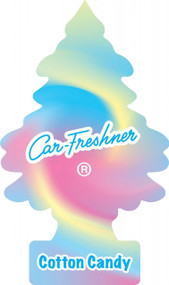 2D Magic Tree Air Freshener - Cotton Candy