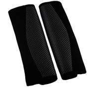 A Pair of Seat Belt Pads - Black