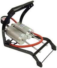 Twin Barrel Foot Pump - Heavy Duty