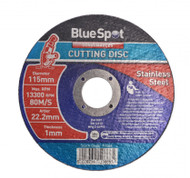 """Stainless Steel Cutting Disc - 115 mm / 4½"""""""