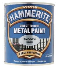 Sliver Hammerite, Smooth Finish  - 750 ml