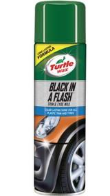 Black in a Flash Interior, Exterior Trim & Tyre Shine - 500 ml