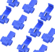 A Pack of 10 Scotch Locks - Blue