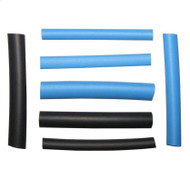 Assorted Heat Shrink Tubing 18 Pieces - From 2 mm to 8 mm