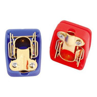 Quick Release Battery Terminals Clamps - 1 Negative & 1 Positive