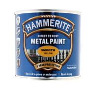Yellow Hammerite, Smooth Finish  - 250 ml