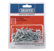 4.8 mm x 10 mm Blind Rivets - Pack of 100