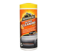 Orange Interior and Dash Cleaning Wipes - Pack of 30 Wipes
