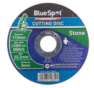 "115mm / 4½"" Stone Cutting Disc - 3 mm Thick"
