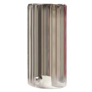 Straight Exhaust Pipe Chrome Trim - 51 mm Diameter