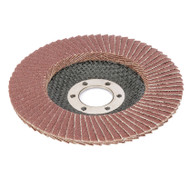 115mm Aluminium Abrasive Flap Wheel - 40 GRIT