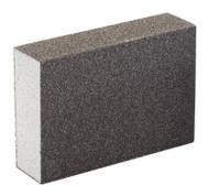Draper Detail Sanding Block Fine & Med Grit - 102 x 70 x 23mm