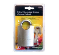 Padlock With a Concealed Shackle - 50 mm