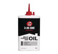 3 in 1 Oil Multi Purpose Lubricate and Rust Preventer Drip Bottle - 200 ml