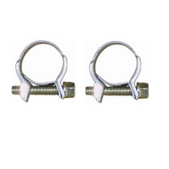 A Pair of Petrol Pipe Clips - 18 - 20 mm