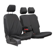 Town & Country Seat Cover Set To Fit Transit Connect 3 Seat - Black Single & Twin