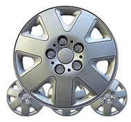 Silver Delta Car Wheel Trims - 16 Inches