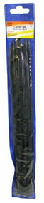 Cable Ties Black 300 mm - 20 in Pack