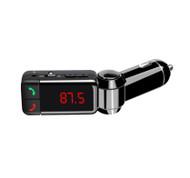 Digital Bluetooth FM Transmitter - Black