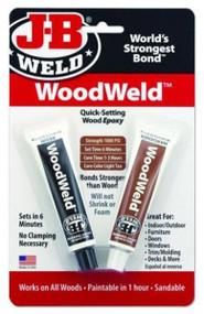 JB Weld Wood Weld Epoxy - 2x21g (Light Tan Finish)
