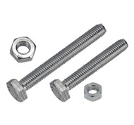 M8 x 25mm Nut and Bolts 2 in a Pack