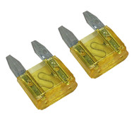 A Pair of Mini Blade Fuses - 20 Amp