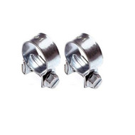 A Pair of Petrol Pipe Clips - 15 to 17 mm