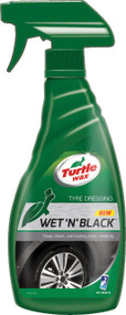 Wet 'n' Black Tyre Shine - 500 ml Trigger