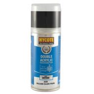 Hycote Matt Black Acrylic Spray Paint - 150 ml