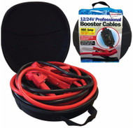 4.5 Meters Long Booster / Jump Leads With Battery Tester - 12/24 V, 480A
