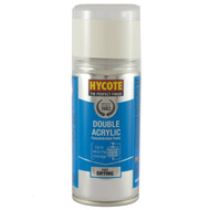 Hycote Vauxhall Summit White Acrylic Spray Paint - 150 ml