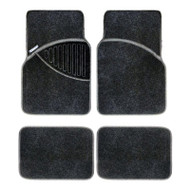 Michelin Heavy Duty Winter Car Carpet Mat Set - Black