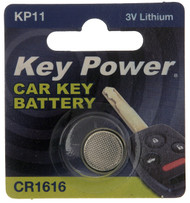CR1616 Key Fob Battery - 3V