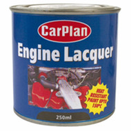 Gloss Black Engine Lacquer High Temperature Paint 250 ml - 150°C