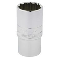 "½"" Square Drive  12 Point Deep Socket - 30 mm"