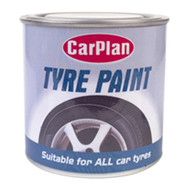 Black Tyre Paint - 250 ml