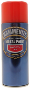 Hammerite Smooth Red Spray Paint - 400 ml
