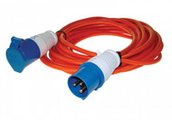 Camping Caravan Electric Mains Extension Lead - 230 v, 25 Meters Long