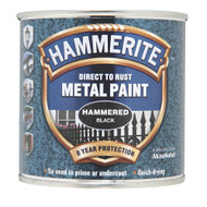 Black Hammerite, Hammered Finish  - 250 ml