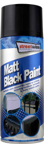 Matt Black Spray Paint - 400ml