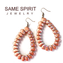 EARRINGS - DRIPPING SPRINGS (Ring of Fire ROSE GOLD)
